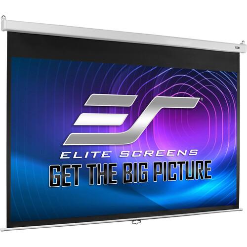 "Elite Screens M120HSR-PRO PRO SRM Manual Projection Screen (58.8 x 104.6"")"