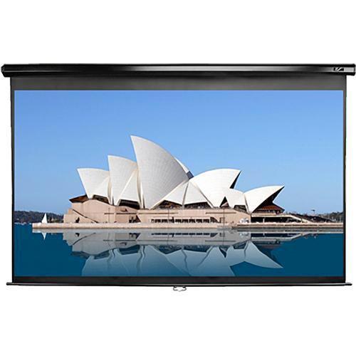 "Elite Screens M150UWH2 Manual Series Projection Screen (73.5 x 130.7"")"