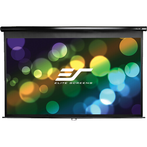 "Elite Screens M80UWH Manual Series Projection Screen (39.6 x 69.6"")"