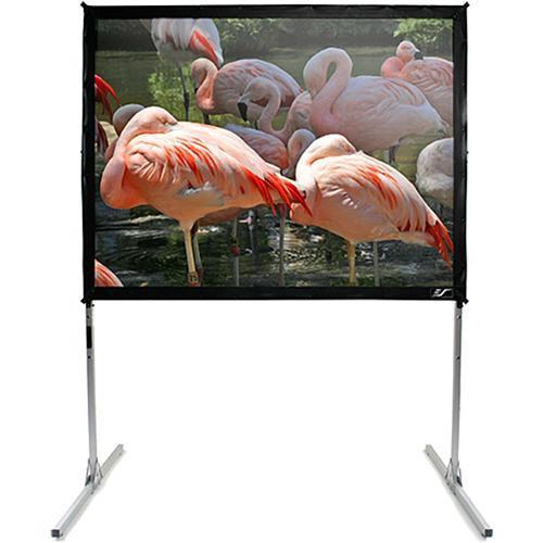 "Elite Screens Q100V Quickstand Portable Folding Projection Screen (60 x 80"")"