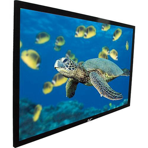 "Elite Screens R135WH1 EzFrame Fixed Wall Projection Screen (66.2 x 117.7"")"