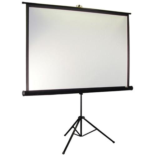 "Elite Screens T119UWS1-PRO Tripod Pro Portable Projection Screen (84 x 84"")"