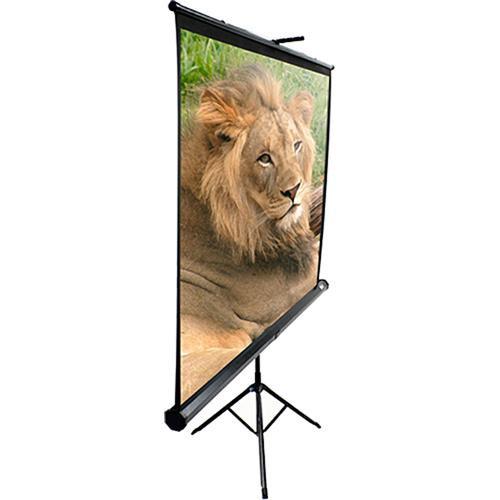 "Elite Screens T71UWS1 Portable Tripod Screen (50x50"")"