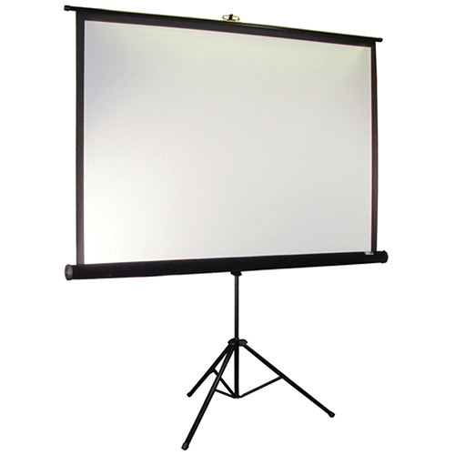 "Elite Screens T72UWH Tripod Portable Projection Screen (35 x 63"")"