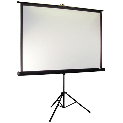 "Elite Screens T85UWS1-PRO Tripod Pro Portable Projection Screen (60 x 60"")"