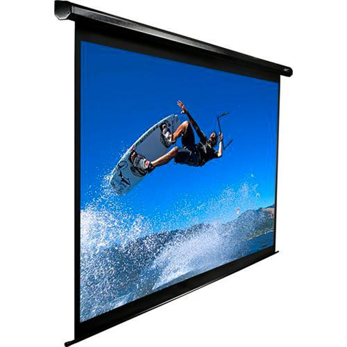 "Elite Screens VMAX150UWH2 VMAX2 Motorized Front Projection Screen (73.5 x 130.7"", 110VAC, 60Hz )"