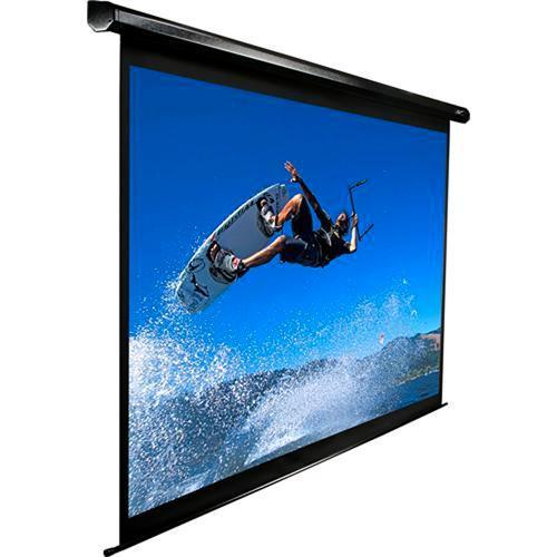 "Elite Screens VMAX170UWS2 VMAX2 Motorized Front Projection Screen (120 x 120"", 110VAC, 60Hz )"