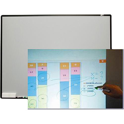 "Elite Screens WB80V  Starbright4 Fixed Frame Front Projection Screen (46.5 x 62.2"")"