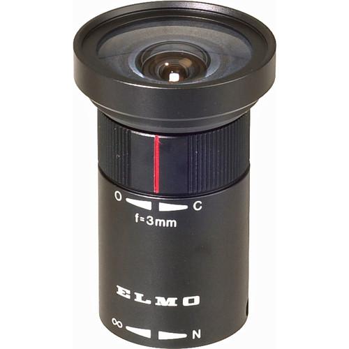 Elmo T183 3mm, f/1.8 Lens for Micro Cameras