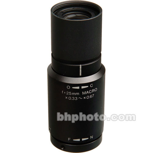 Elmo 8797 25mm f/3.4 Macro Lens for Micro Cams