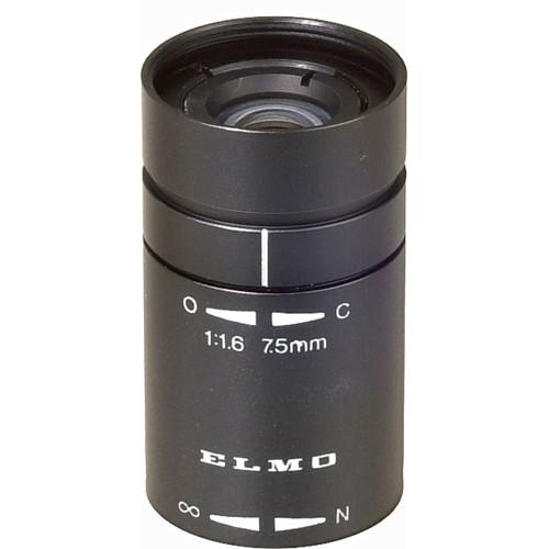 Elmo T1675F 7.5mm, f/1.6 Micro Cam Lens