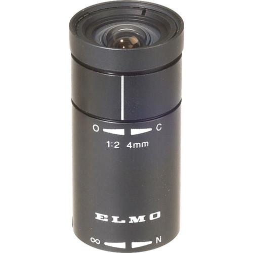 Elmo T204D 4mm, f/2 Lens for Micro Mount
