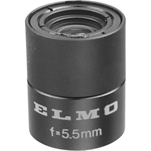 Elmo T1655 1/3-Inch 5.5mm, f/1.6 Micro Camera Lens