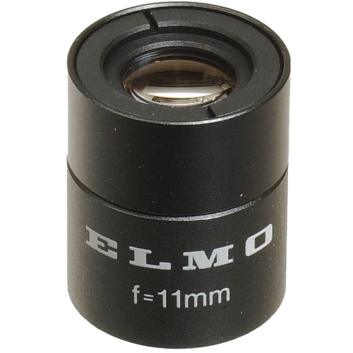 Elmo 9288 11mm f/2.0 Micro Mount Lens for 1/3-Inch CCD