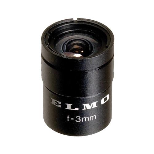 Elmo TT203 1/3-Inch 3.0mm, f/2.0 Lens
