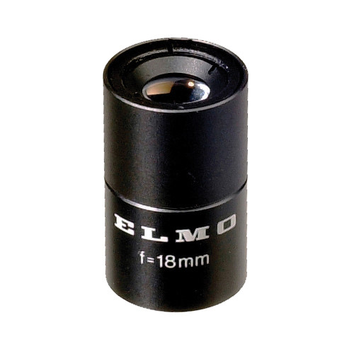 Elmo 9295 TT3318 18mm, f3.3 Micro Mount Lens for 1/3-Inch CCD