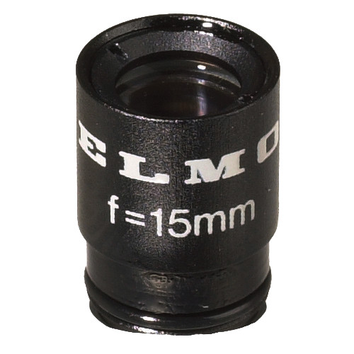 Elmo QT-3515 15mm, f/3.5 Ultra-Micro-Mount Lens