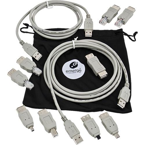 ReTrak 3' (0.9 m) USB 2.0 Universal Cable Kit