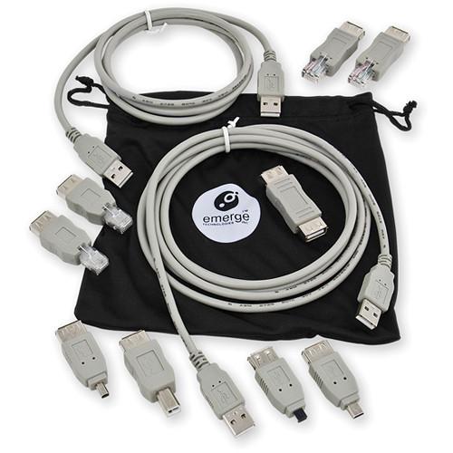 ReTrak 6' (1.8 m) USB 2.0 Universal Cable Kit