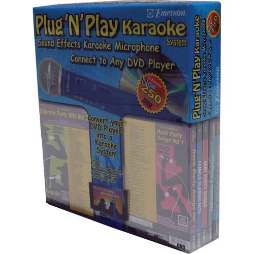 Emerson Karaoke Plug 'N' Play Karaoke System