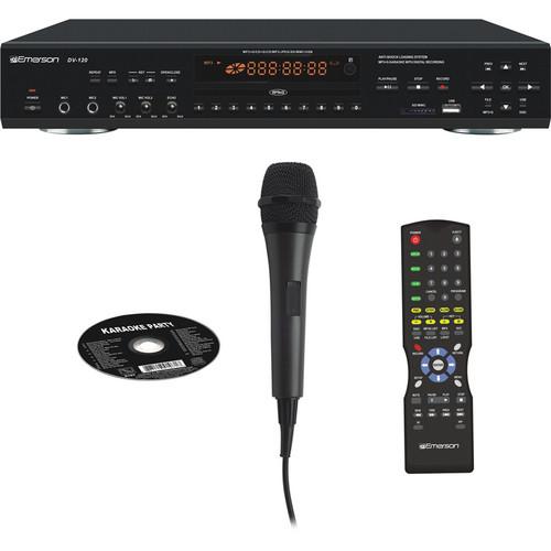 Emerson Karaoke DV120 Professional CDG / MP3G Karaoke Player with Record
