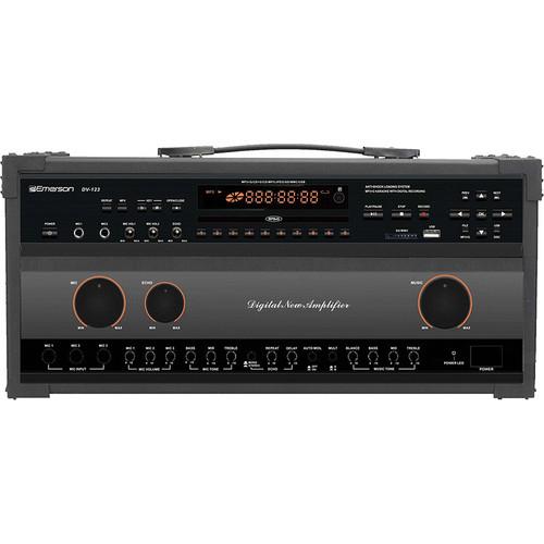 Emerson Karaoke DV123 Professional CD+G/MP3 Karaoke System