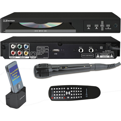 Emerson Karaoke GQ100 Karaoke Player