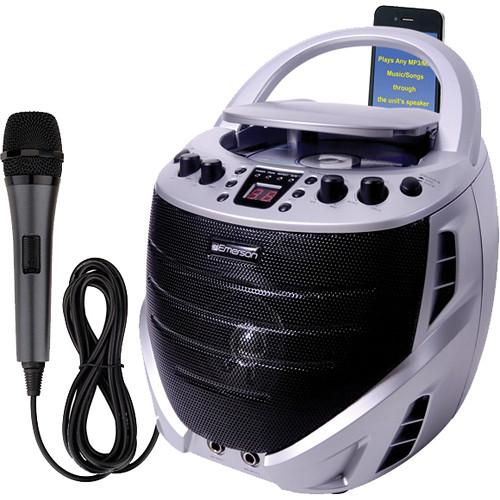 Emerson Karaoke GQ365 Portable Karaoke CD+G Player