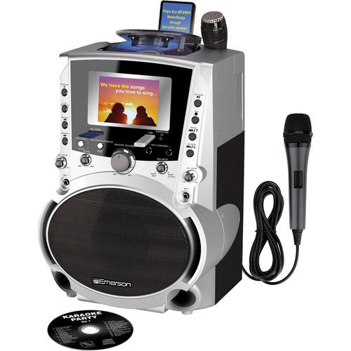 Emerson Karaoke GQ756 Portable CDG / MP3G Karaoke System