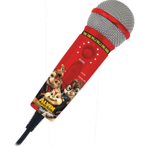 Emerson Karaoke MM208A Alvin & The Chipmunks Plug 'n' Sing Microphone (With Alvinizer)