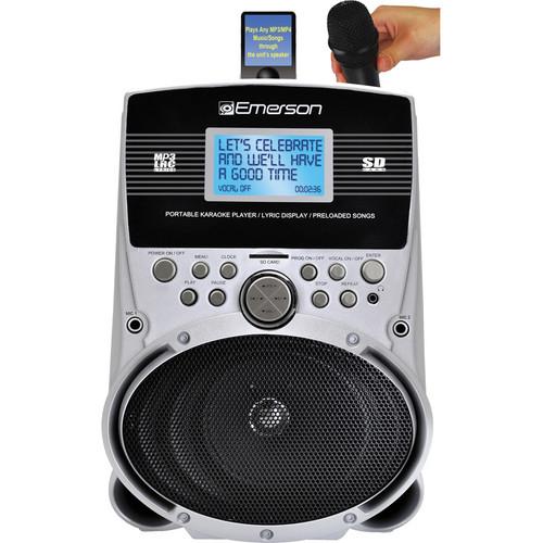 Emerson Karaoke SD513 Portable Karaoke MP3 Lyric Player