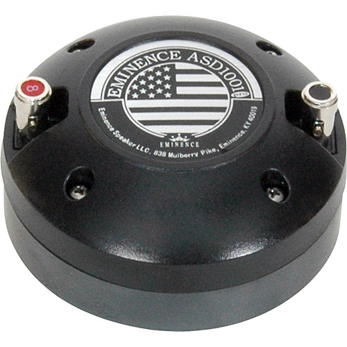 """Eminence ASD:1001 1"""" High Frequency Driver for Horn Flare Installation"""