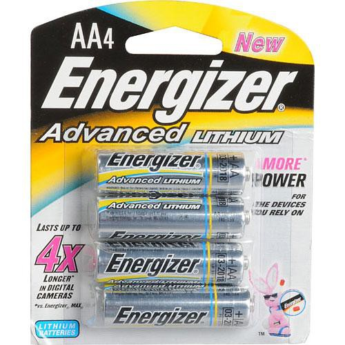 Energizer Advanced Lithium AA Batteries (4-Pack)
