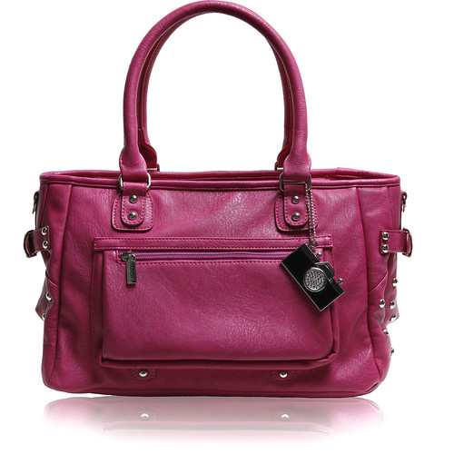 Epiphanie Belle Shoulder Bag Fuchsia