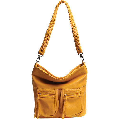 Epiphanie Lyric Shoulder Bag (Mustard)