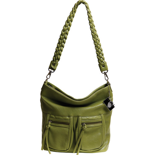 Epiphanie Lyric Shoulder Bag (Olive)