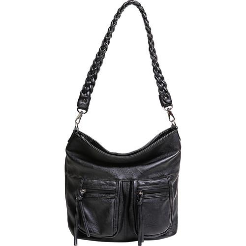 Epiphanie Lyric Shoulder Bag (Black)