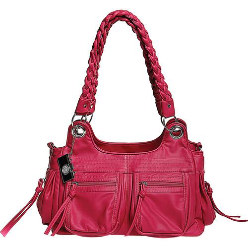 Epiphanie Stella Shoulder Bag (Hot Pink)