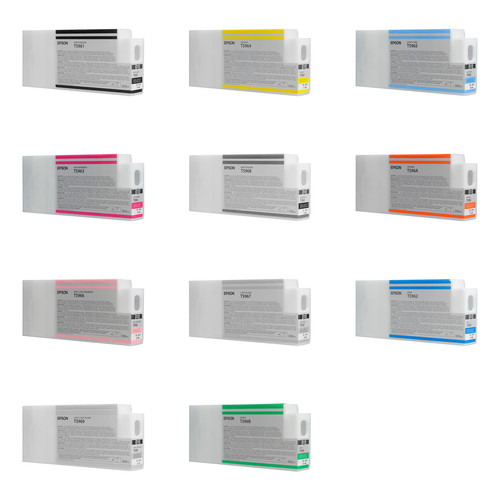 Epson Ink Cartridge Set For Stylus Pro 7900 & 9900 Series Printers (350ml)