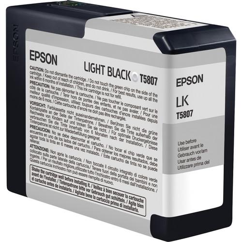 Epson UltraChrome K3 Matte Black 8-Cartridge Ink Set (80 ml)