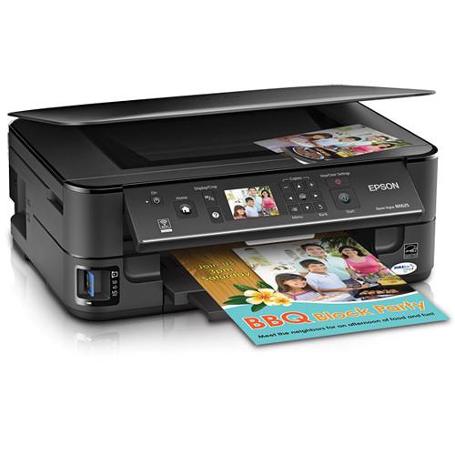 Epson Stylus NX625 Wireless All-in-One Inkjet Printer