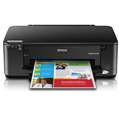Epson WorkForce 60 Color Inkjet Printer
