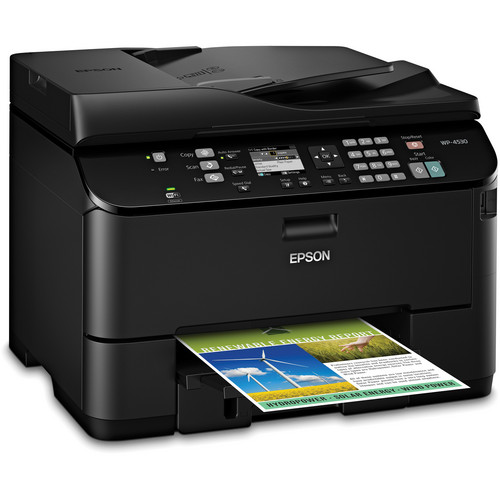 Epson WorkForce Pro WP-4530 Wireless Color All-in-One Inkjet Printer