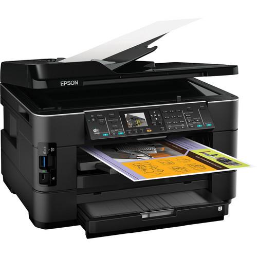 Epson WorkForce WF-7520 Wireless Color All-in-One Inkjet Printer