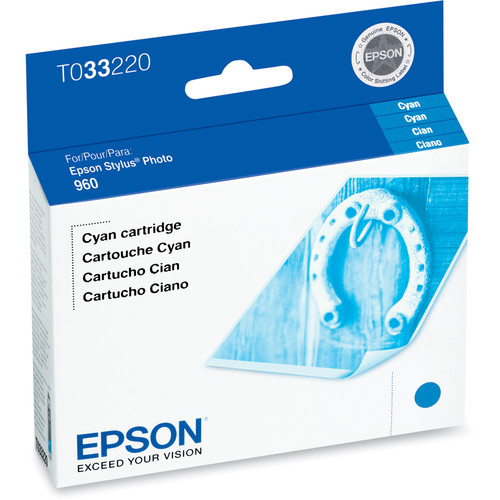 Epson 6-Cartridge Ink Set for Epson Stylus Photo 960 Printer