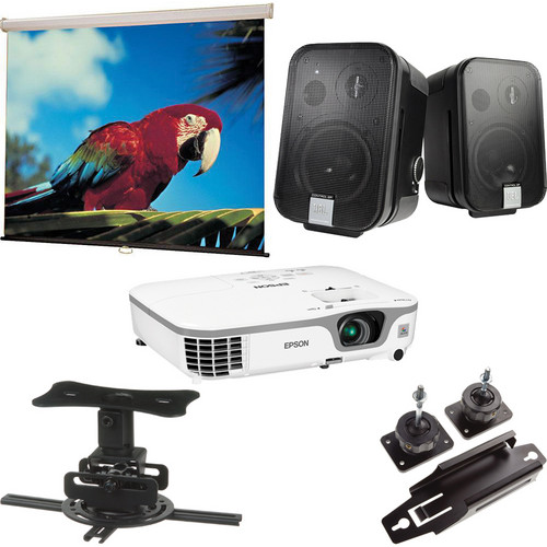 Epson PowerLite X12 Multimedia Projector Conference Room Package