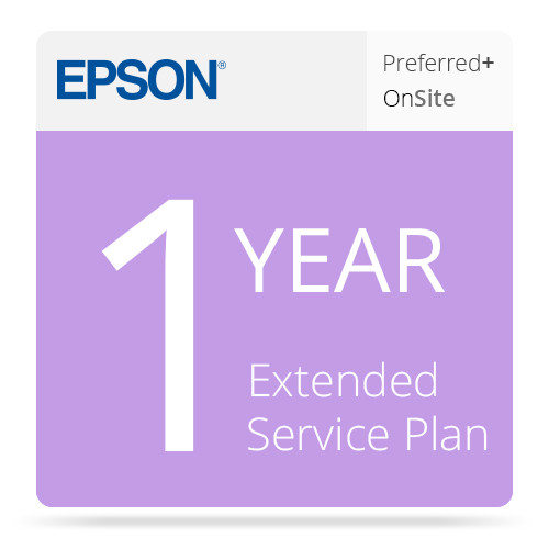 Epson 1-Year Preferred Plus Extended Service Plan for Stylus Pro 4800/4880
