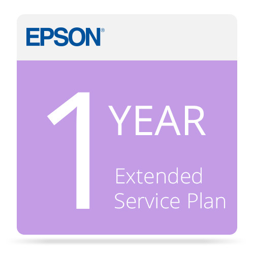 Epson 1-Year Extended Service Plan for Epson Expression and GT Series Scanners