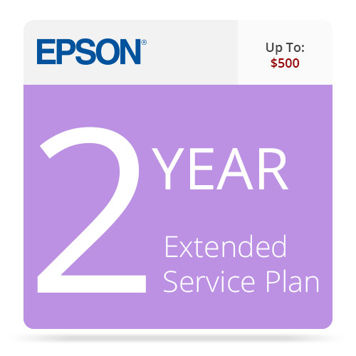 Epson 2-Year Replacement Extended Service Contract for Business Scanners Valued up to $500