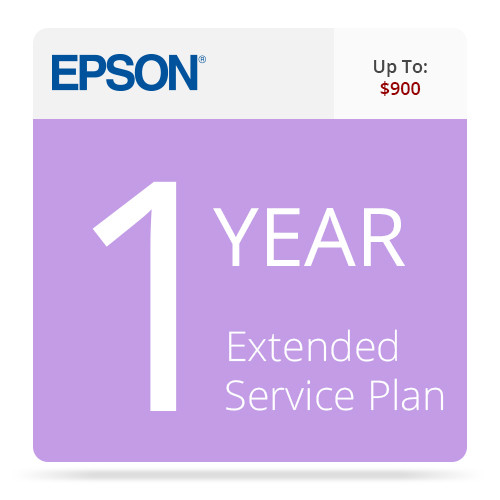 Epson 1-Year Exchange/Repair Extended Service Contract for Business Scanners Valued up to $900